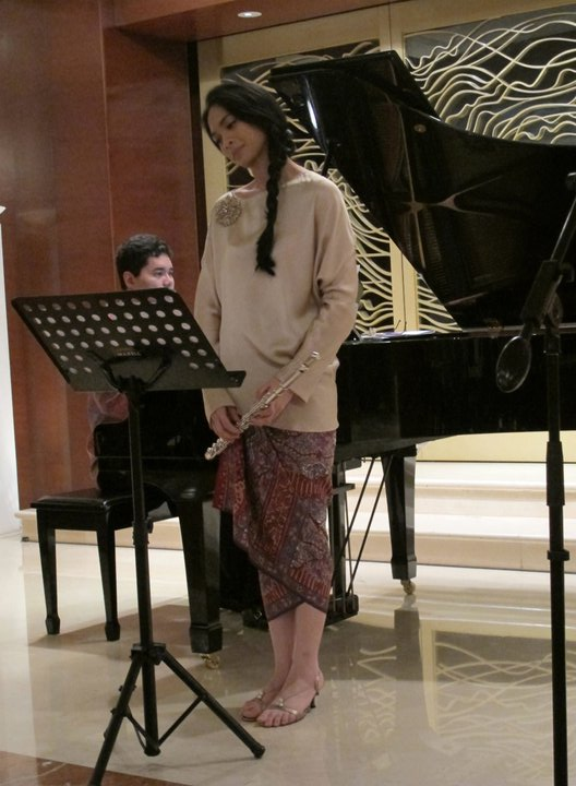 Another Duet with Kak Ananda Sukarlan