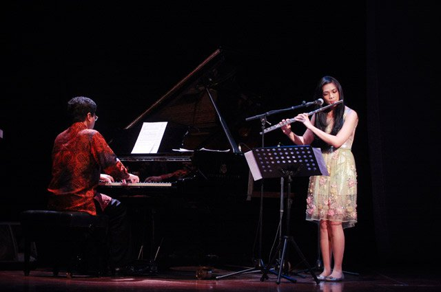 Piano and Flute Duet with Ananda Sukarlan