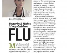 Benarkah Hujan Menyebabkan Flu?